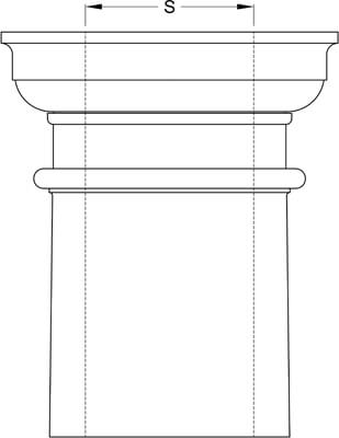 square-non-tapered-column-inside-diameter