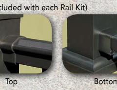 Afco Series 100 Level Rail Mounting Bracket Set