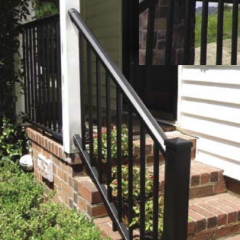 Afco Series 100, Afco Aluminum Railing Kits [Fixed Angle Stair]