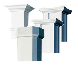Afco Caps & Bases for Craftsman, Empire, Wellington or Acadian Columns