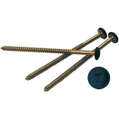 "3"" Painted Screws (12/Bag)"