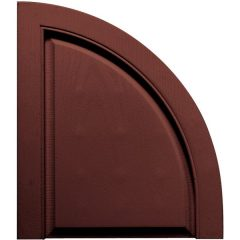 14.75 Inch x 17 Inch Quarter Round Arch Solid (Per Pair)