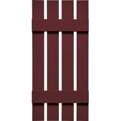 "Specialty 16-1⁄4"" 4-Board Spaced Board-N-Batton Shutters w/ Shutter-Lok fasteners & color-matched screws (Pair)"