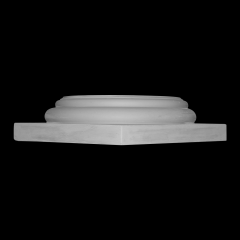 Doric Base, FIBERGLASS, Various Sizes