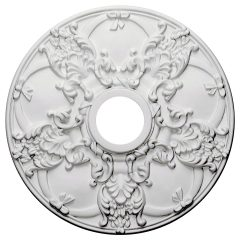 "CM18NO 18""OD x 3-1/2""ID x 1-3/8""P Norwich Ceiling Medallion"