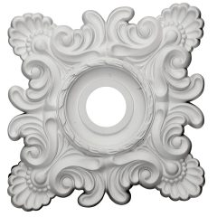 "CM18CR 18""W x 18""H x 3-1/4""ID x 1-1/2""P Crawley Ceiling Medallion"