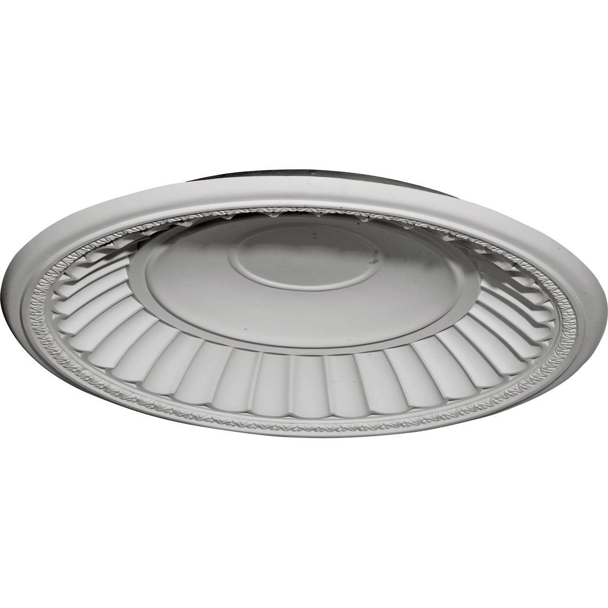 """DOME26DU 26-7/8""""OD x 25""""ID x 3-7/8""""D Dublin Recessed Mount Ceiling Dome (24-1/2""""Diameter x 3-1/4""""D Rough Opening)"""