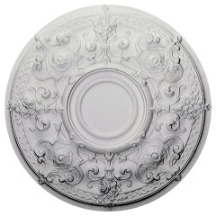 "CM28OS 28-1/8""OD x 1-3/4""P Oslo Ceiling Medallion (Fits Canopies up to 7"")"