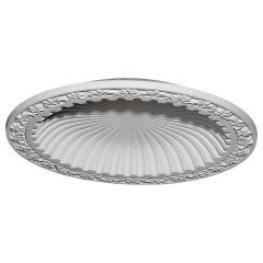 "DOME39MI 39-3/8""OD x 31-1/8""ID x 4-1/8""D Milton Recessed Mount Ceiling Dome (33-1/2""Diameter x 4""D Rough Opening)"
