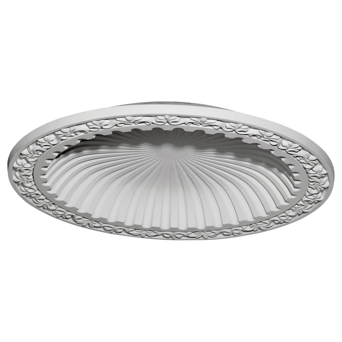 """DOME39MI 39-3/8""""OD x 31-1/8""""ID x 4-1/8""""D Milton Recessed Mount Ceiling Dome (33-1/2""""Diameter x 4""""D Rough Opening)"""