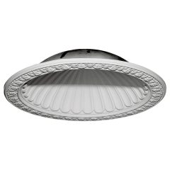 "DOME47CL 47-3/8""OD x 38-3/8""ID x 10-3/8""D Claremont Recessed Mount Ceiling Dome (39""Diameter x 10-1/2""D Rough Opening)"