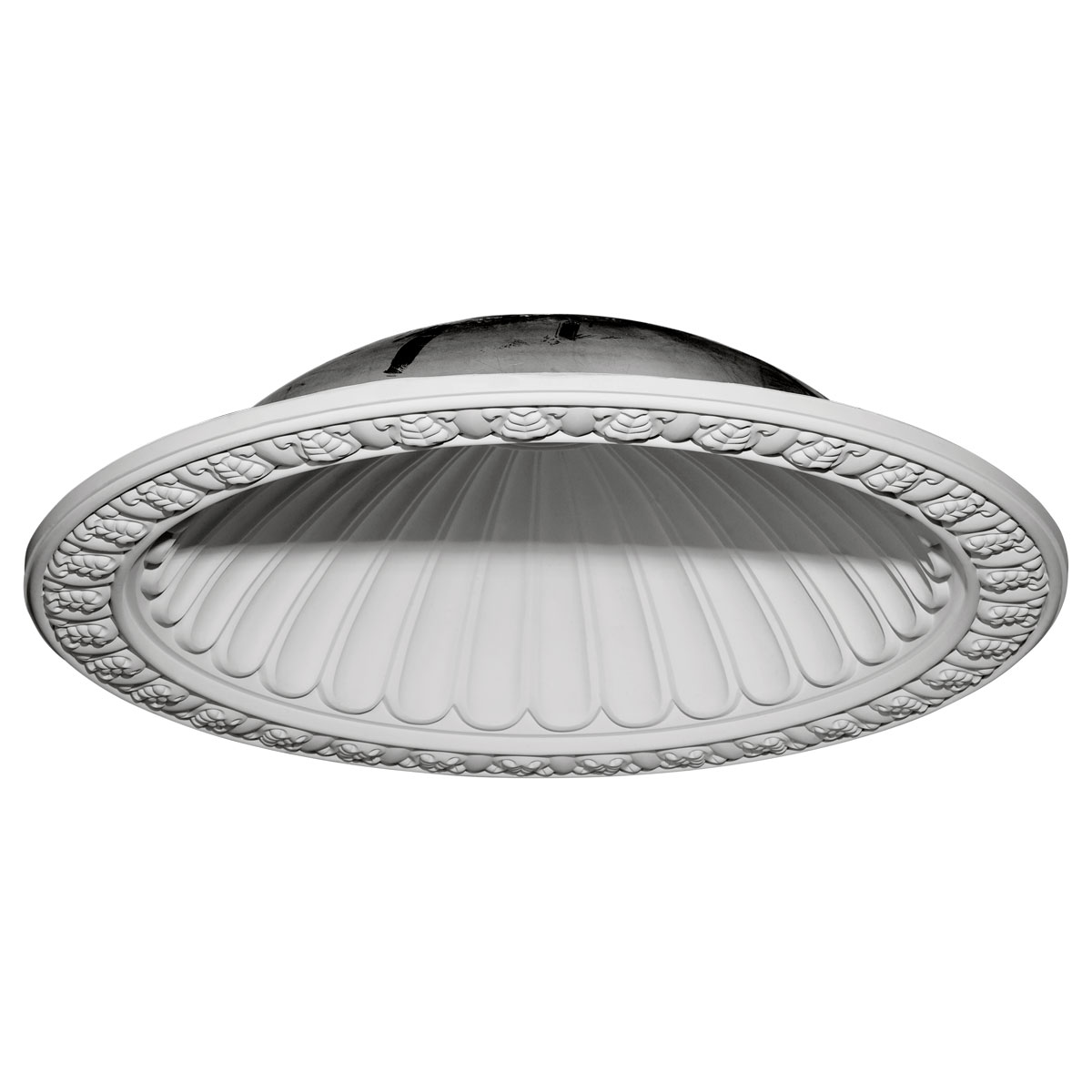 """DOME47CL 47-3/8""""OD x 38-3/8""""ID x 10-3/8""""D Claremont Recessed Mount Ceiling Dome (39""""Diameter x 10-1/2""""D Rough Opening)"""