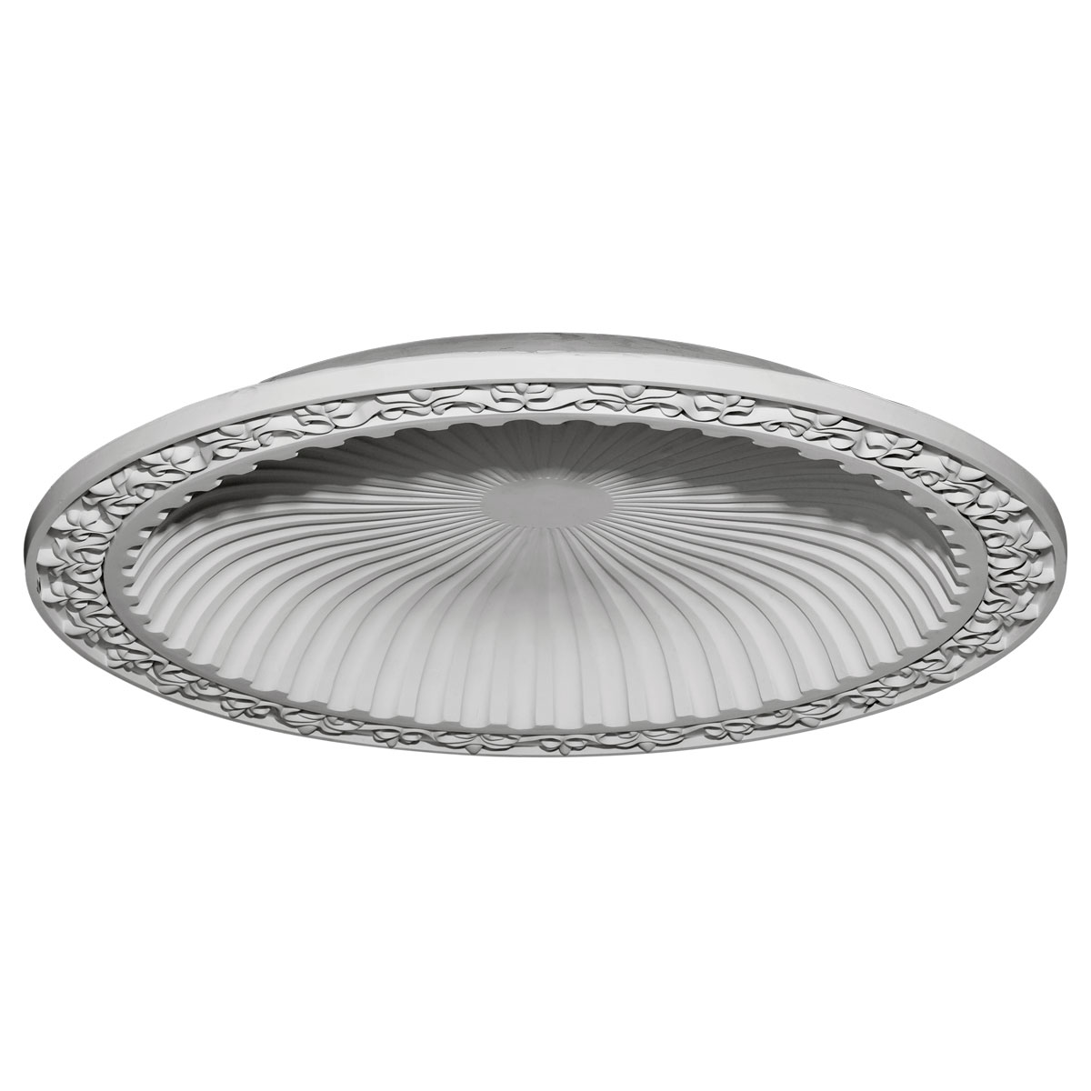 """DOME47MI 47""""OD x 38-3/8""""ID x 5-1/4""""D Milton Recessed Mount Ceiling Dome (41"""" Diameter x 4-5/8""""D Rough Opening)"""