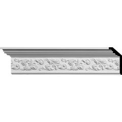 "MLD05X02X06RI 5-1/2""H x 2-1/4""P x 6""F x 94-1/2""L Richmond Crown Molding"