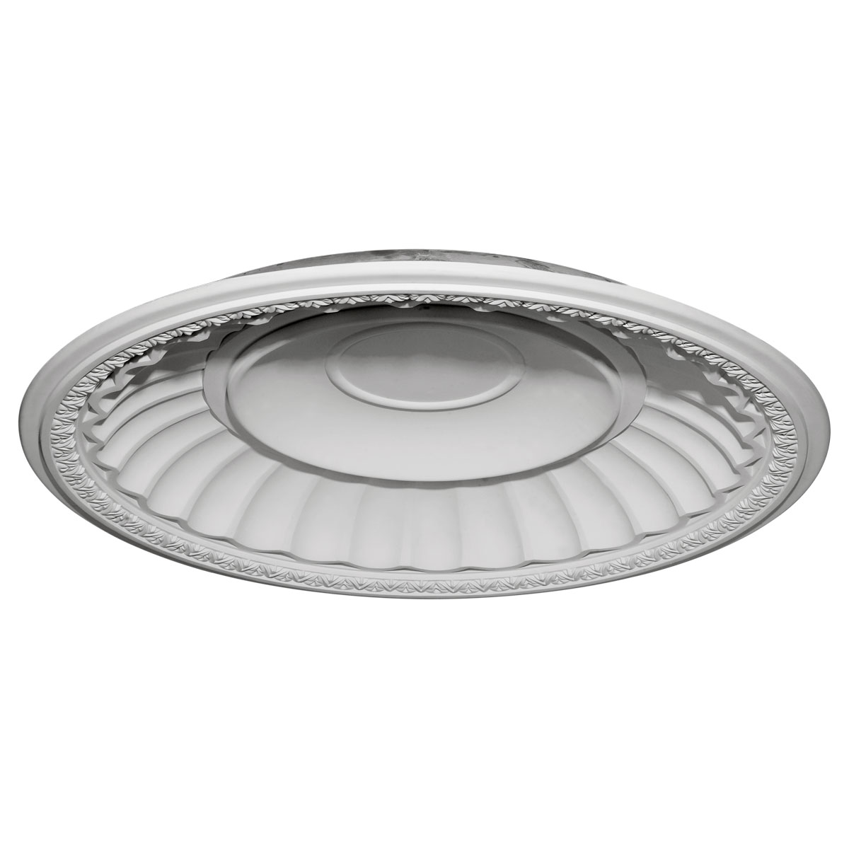 """DOME51DU 50-7/8""""OD x 43-1/2""""ID x 6-3/8""""D Dublin Recessed Mount Ceiling Dome (49""""Diameter x 7""""D Rough Opening)"""