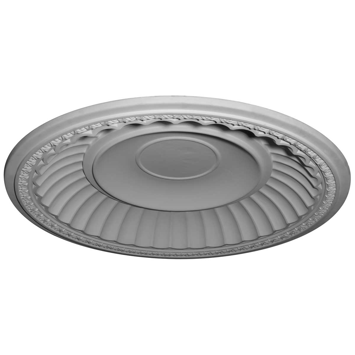 """DOME59DU 59-1/4""""OD x 50-1/8""""ID x 8-3/8""""D Dublin Recessed Mount Ceiling Dome (51-1/4""""Diameter x 9""""D Rough Opening)"""