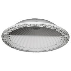 "DOME60CL 60-3/4""OD x 50-1/8""ID x 12-5/8""D Claremont Recessed Mount Ceiling Dome (53""Diameter x 14""D Rough Opening)"