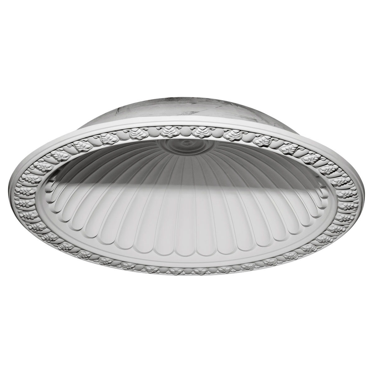 """DOME60CL 60-3/4""""OD x 50-1/8""""ID x 12-5/8""""D Claremont Recessed Mount Ceiling Dome (53""""Diameter x 14""""D Rough Opening)"""