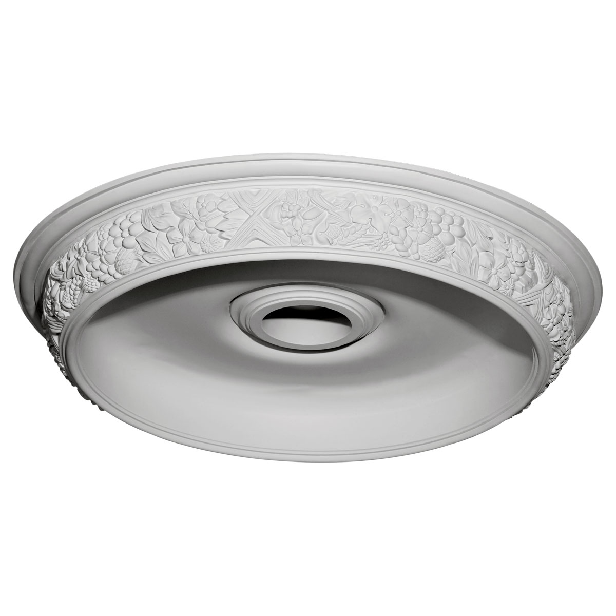 """DOME28AS 28-7/8""""OD x 22""""ID x 2-1/4""""D Ashford Surface Mount Ceiling Dome"""