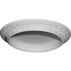"DOME34BE 34-1/2""OD x 25""ID x 3-1/2""D Bedford Surface Mount Ceiling Dome"