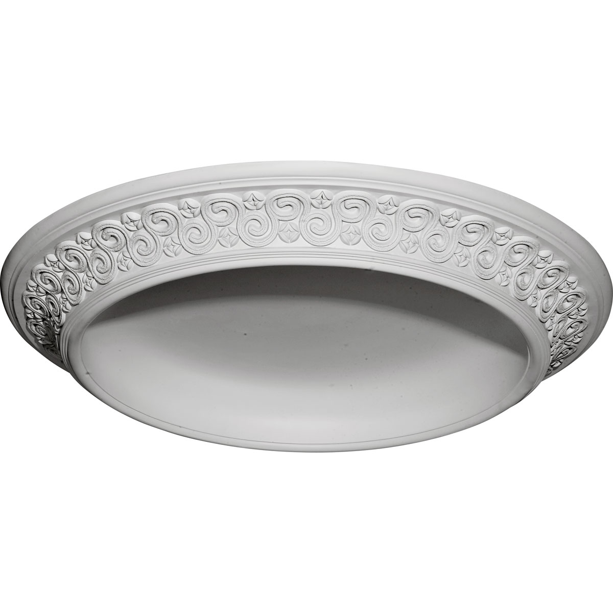 """DOME34BE 34-1/2""""OD x 25""""ID x 3-1/2""""D Bedford Surface Mount Ceiling Dome"""