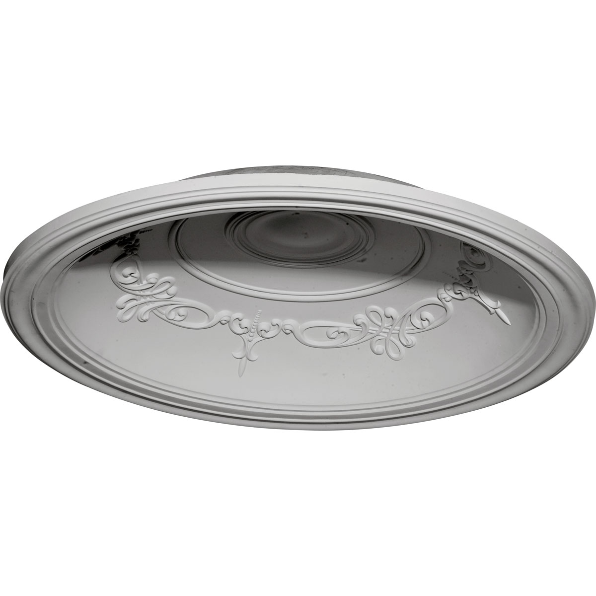 """DOME35CH 35""""OD x 27-7/8""""ID x 5-5/8""""D Chesterfield Recessed Mount Ceiling Dome (29-1/2""""Diameter x 6-5/8""""D Rough Opening)"""