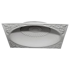 "DOME59SU 59""OD x 51-1/8""ID x 9""D Sussex Recessed Mount Ceiling Dome (55"" Diameter x 9-3/4""D Rough Opening)"