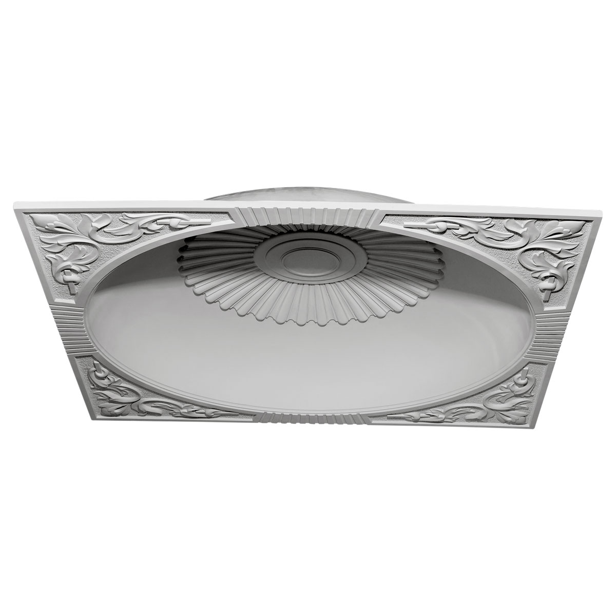 """DOME59SU 59""""OD x 51-1/8""""ID x 9""""D Sussex Recessed Mount Ceiling Dome (55"""" Diameter x 9-3/4""""D Rough Opening)"""