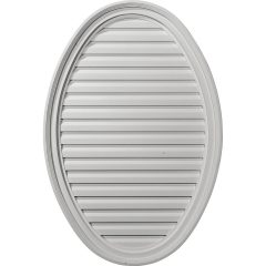 "GVOV25X37F 25""W x 37""H x 2-1/8""P,Vertical Oval Gable Vent,Functional"