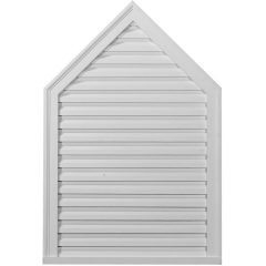 "GVPE24X30F 24""W x 30""H Peaked Gable Vent Louver,Functional"