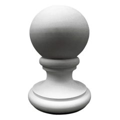 """FIN14X21TR 14-7/8""""OD x 21-3/8""""H Traditional Finial"""