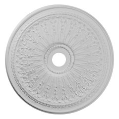 "CM29OA 29-1/8""OD x 3-5/8""ID x 1""P Oakleaf Ceiling Medallion (Fits Canopies up to 6-1/4"")"