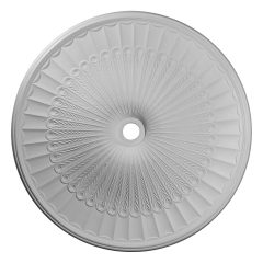 """CM51GL 51""""OD x 3-5/8""""ID x 3-3/8""""P Galveston Ceiling Medallion (Fits Canopies up to 5-7/8"""")"""