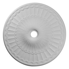 """CM36GL 36-5/8""""OD x 3-5/8""""ID x 2-3/8""""P Galveston Ceiling Medallion (Fits Canopies up to 4-3/4"""")"""