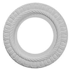 """CM10CL 10-5/8""""OD x 5-3/4""""ID x 1/2""""P Claremont Ceiling Medallion (Fits Canopies up to 3-3/16"""")"""