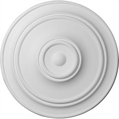 """CM40CL 40-1/4""""OD x 3-1/8""""P Small Classic Ceiling Medallion"""