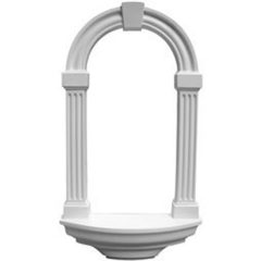 """NCH16X29AD 16-3/8""""W x 29-7/8""""H x 4-5/8""""D Adonis Wall Niche,Surface Mount"""