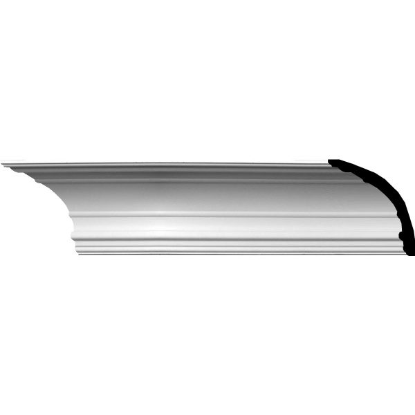 """SO-048 6-3/4""""H x 7""""P x 9-3/4""""F x 94-1/2""""L Foster Traditional Crown Molding"""