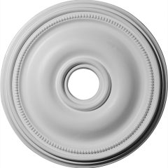 "CM18BR 18-1/8""OD x 3-3/4""ID x 1-1/8""P Bradford Ceiling Medallion (Fits Canopies up to 4-3/8"")"