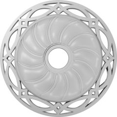 "CM26LO 26-5/8""OD x 4-1/2""ID Loera Ceiling Medallion (Fits Canopies up to 6-1/4"")"