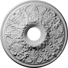 "CM23AS 23-7/8""OD x 4-7/8""ID Ashley Ceiling Medallion (Fits Canopies up to 5-1/2"")"