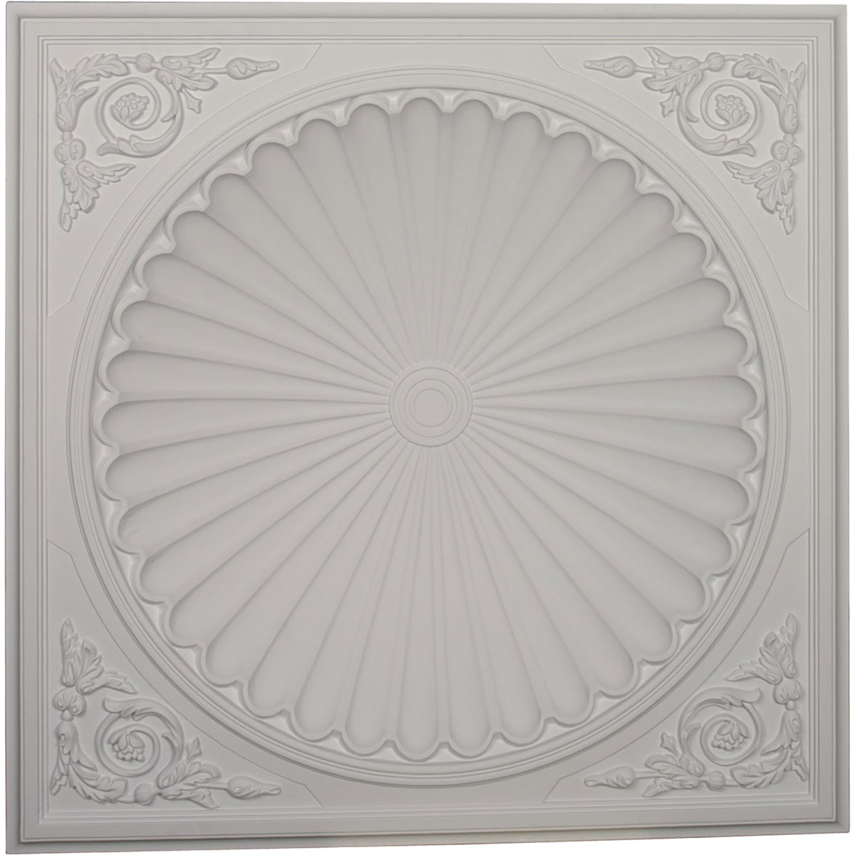 """DOME38OD 38-1/2""""OD x 30-3/4""""ID x 6-1/2""""D Odessa Recessed Mount Ceiling Dome (32-1/2""""Diameter x 7-7/8""""D Rough Opening)"""