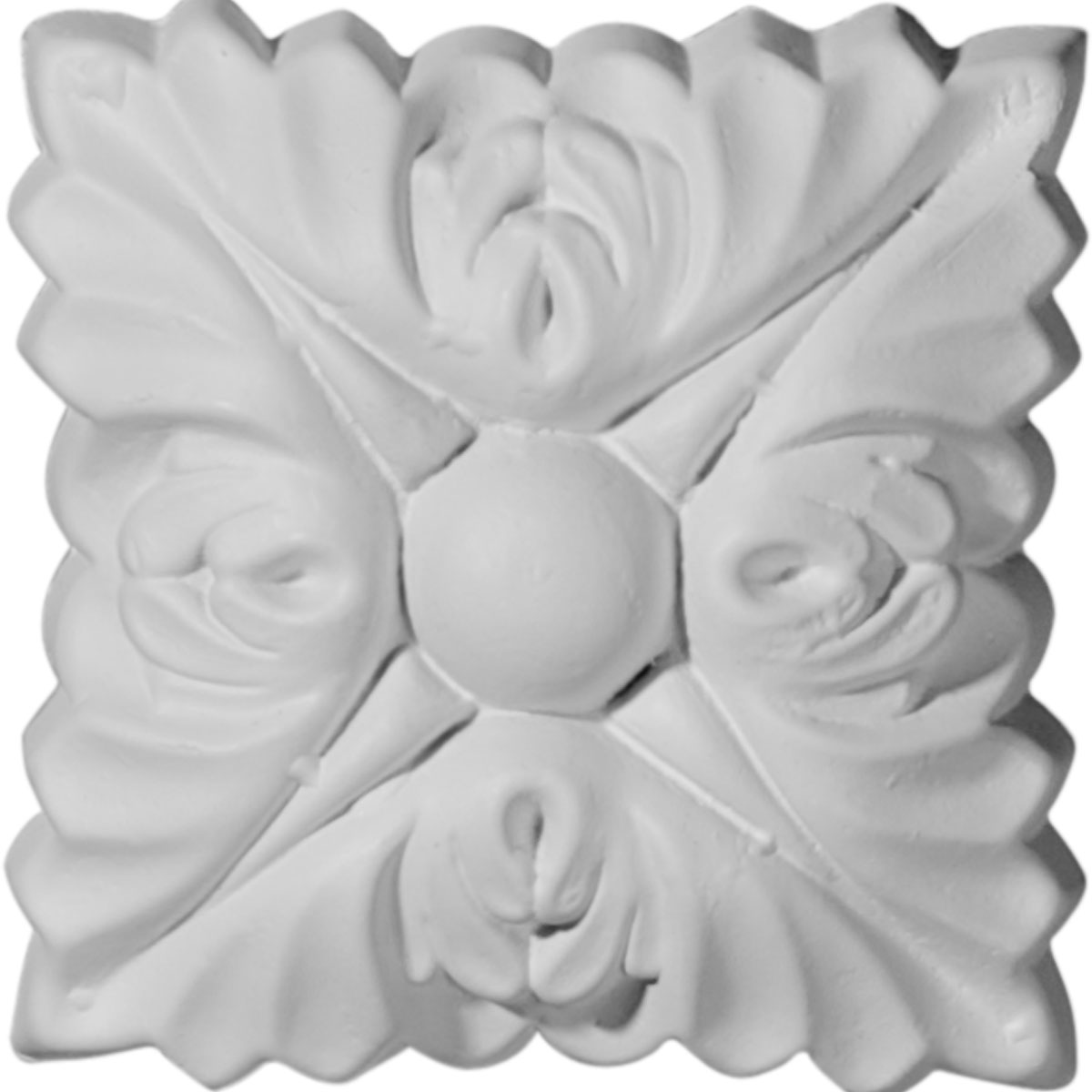 """ROS03X03SK 3""""W x 3""""H Sellek Rosette (Can be used with Sellek Panel Molding)"""