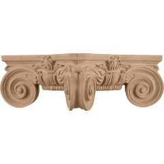 """Scamozzi Wood Capital for a 12"""" Round Tapered Wood Column"""