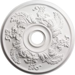"CM23AC 23-5/8""OD Acanthus Twist Ceiling Medallion (Fits Canopies up to 4-3/4"")"
