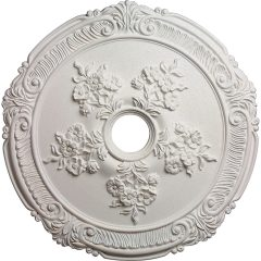 "CM26AT 26""OD Attica with Rose Ceiling Medallion (Fits Canopies up to 4-1/2"")"