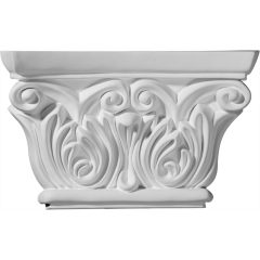 """CAP08X05X02CH 8-5/8""""W x 5-1/2""""H Chesterfield Capital (Fits Pilasters up to 5-1/4""""W x 5/8""""D)"""