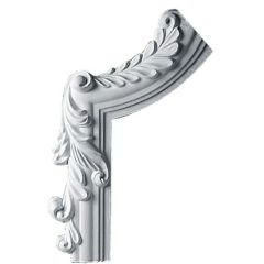 "PML07X11HI-L 7""W x 11""H x 3/4""P Hillsborough Panel Molding Corner,Left"
