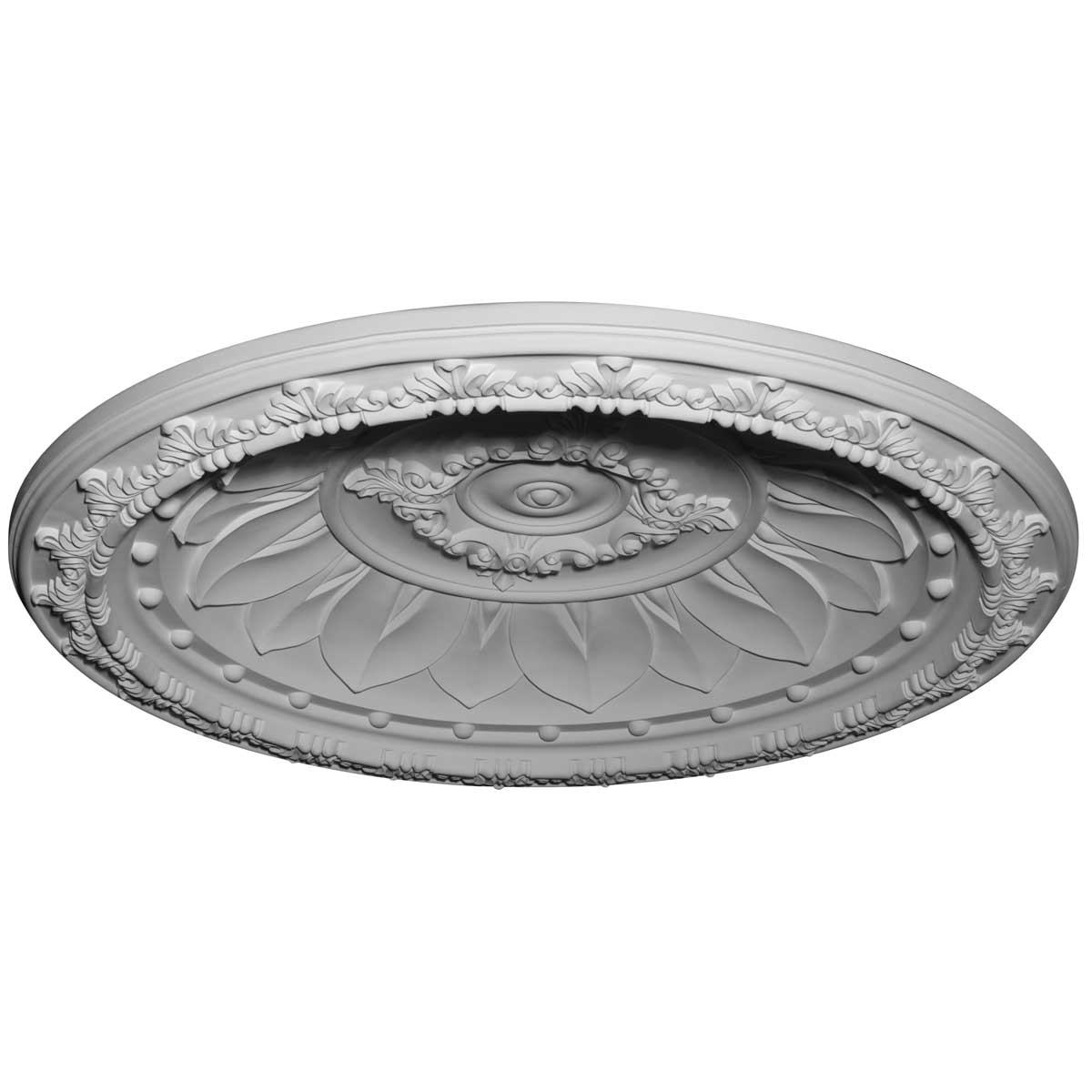 """DOME47ST 47-1/4""""OD x 39-3/8""""ID x 6-3/8""""D Stockport Recessed Mount Ceiling Dome (41""""Diameter x 5-1/4""""D Rough Opening)"""