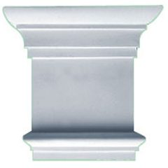 """CAP08X07X02TR 8-1/4""""W x 7-7/8""""H Traditional Capital (Fits Pilasters up to 5-1/4""""W x 5/8""""D)"""